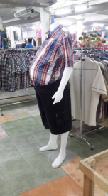 Big Boned Barbia Mannequin
