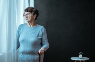 Grandmother with insomnia problem
